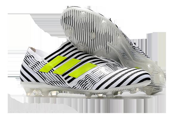 Adidas Nemeziz 17+ 360 Agility FG Белые