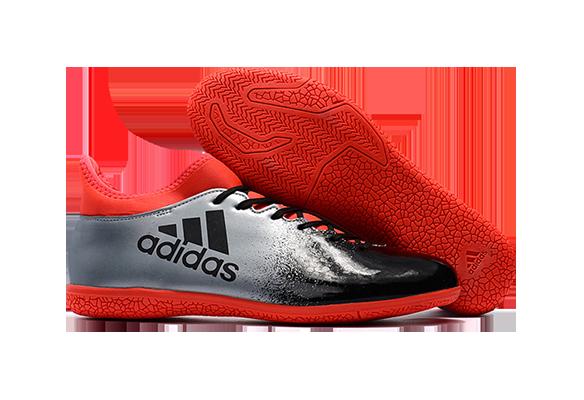 Adidas X 16.3 IC Серо-оранжевые
