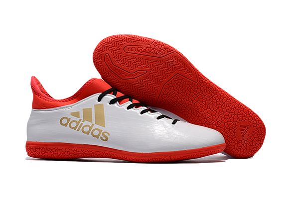Adidas X 16.3 IC Белые с Оранжевым