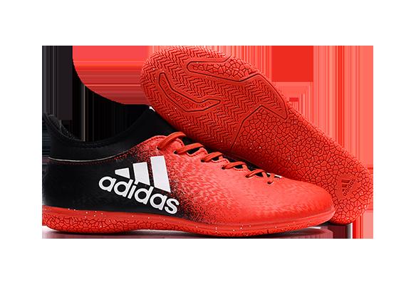 Adidas X 16.3 IC Черно-оранжевые