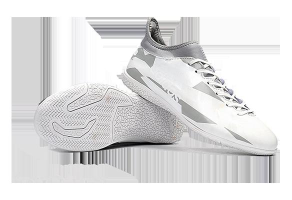Adidas X 16.3 IC Белые с Серым