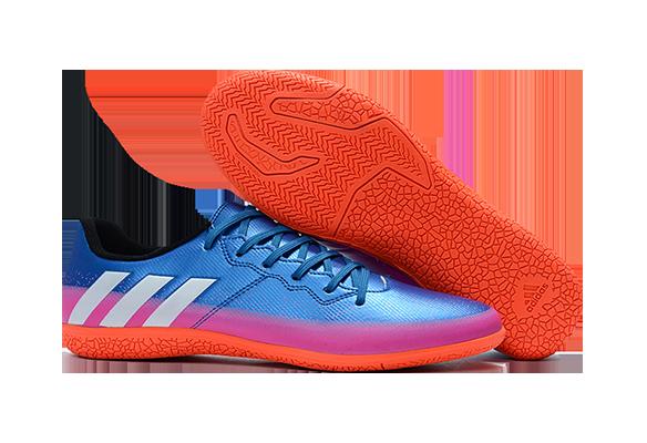 Adidas Messi 16.3 IC Синие с Оранжевым