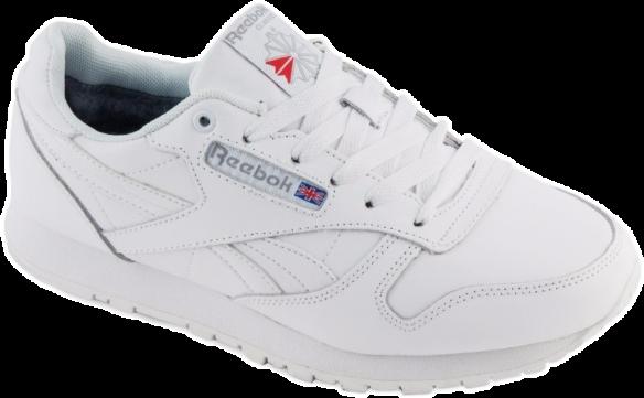 Reebok Classic С натуральным мехом белые