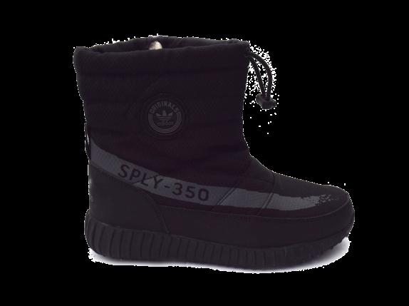 Женские дутики Adidas Черные