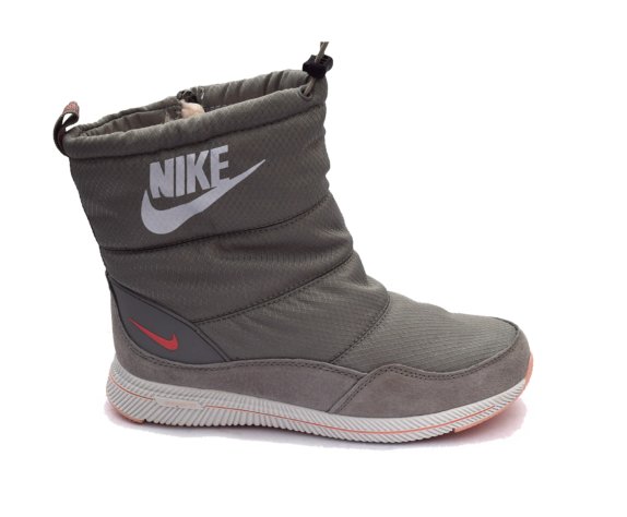 Женские дутики Nike Серые