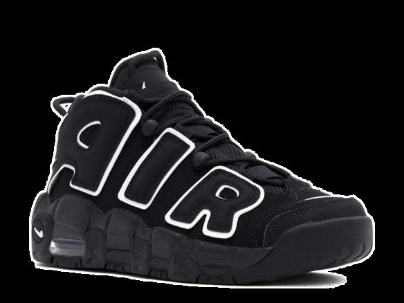 Nike Air More Uptempo Black-White
