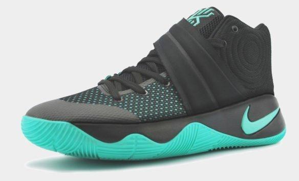 Nike Kyrie 2 Черно-бирюзовые