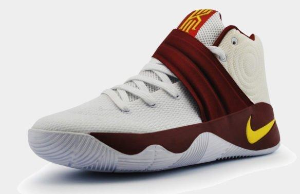 Nike Kyrie 2 Белые с красным