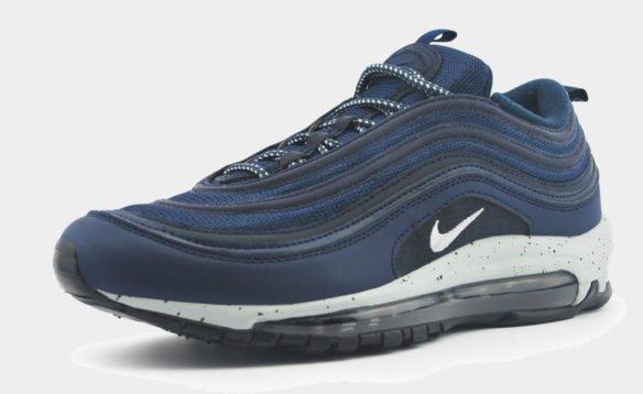 Nike Air Max 97 синие с белым
