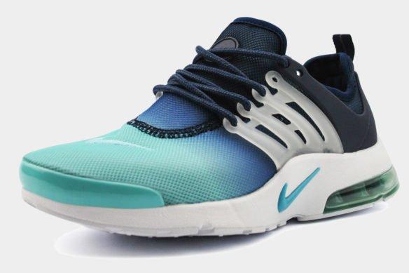 Nike Air Presto Ulta BR Черно-голубые