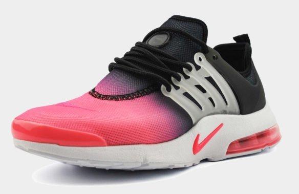 Nike Air Presto Ulta BR Черно-розовые