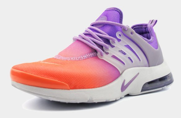 Nike Air Presto Ulta BR Фиолетово-оранжевые