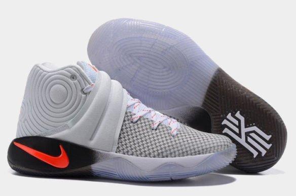 Nike Kyrie 2 (Grey-Red-White)