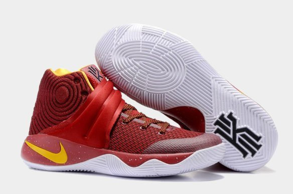 Nike Kyrie 2 (Red-Yellow-White)