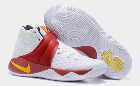 Nike Kyrie 2 (White-Red)