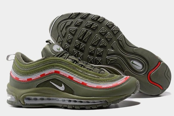 Undefeated x Nike Air Max 97 MoonRock (Olive)