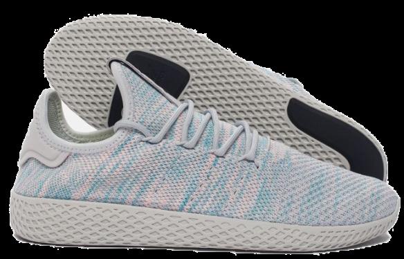 Adidas x Pharrell Williams Tennis Hu (Blue-Pink-Light-Grey)
