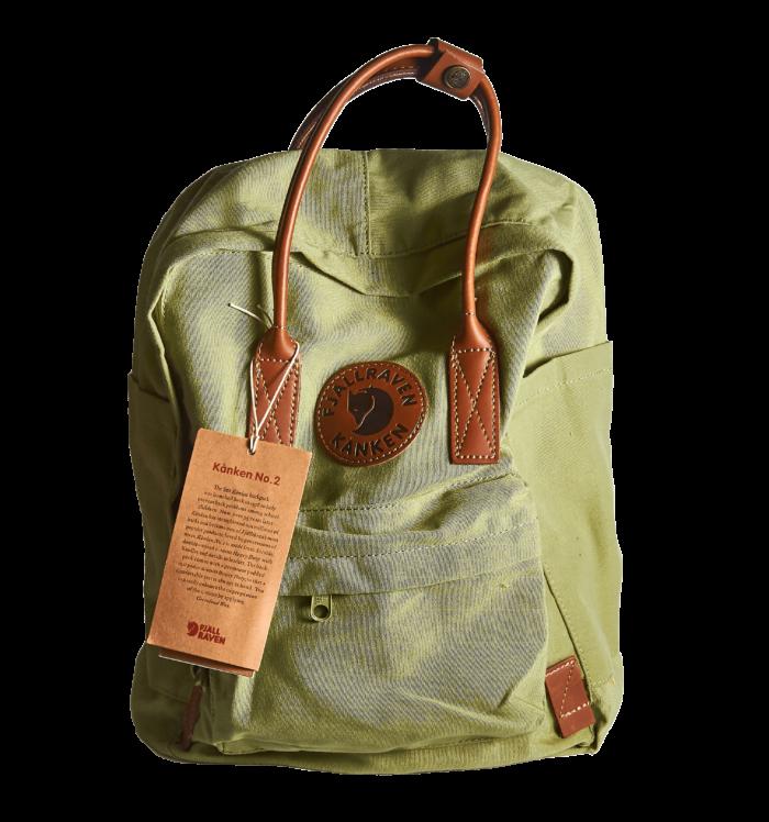 Рюкзак FJALLRAVEN KANKEN зеленый
