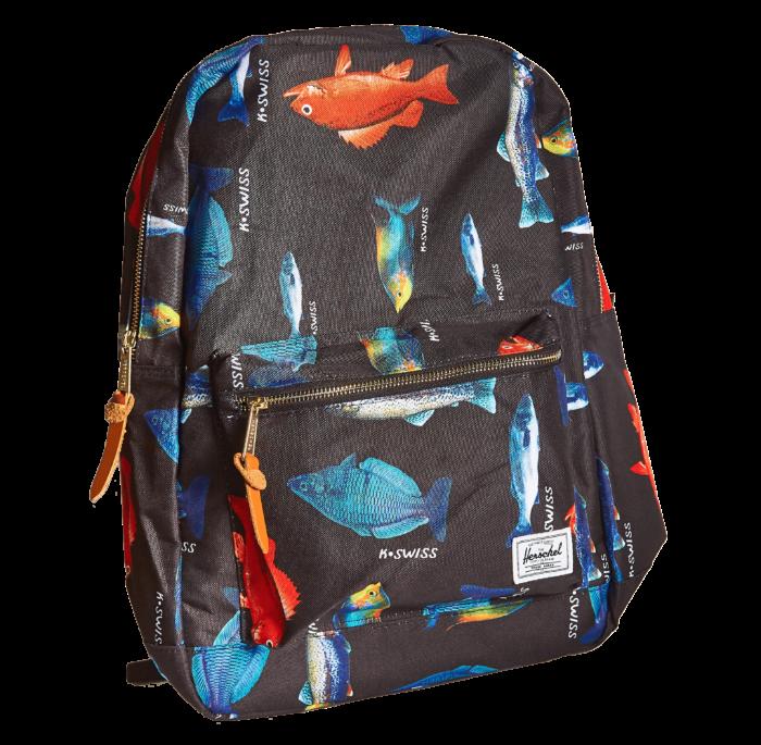 Рюкзак Herschel с рыбками