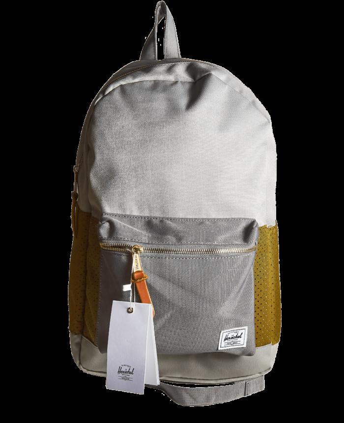 Рюкзак Herschel серый с зеленым