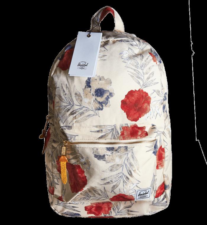 Рюкзак Herschel белый с цветами