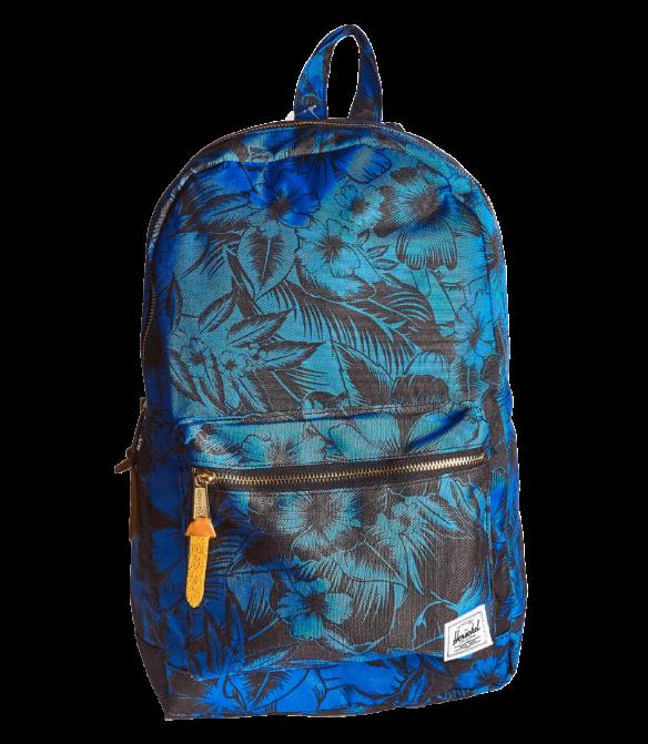Рюкзак Herschel синий с цветами