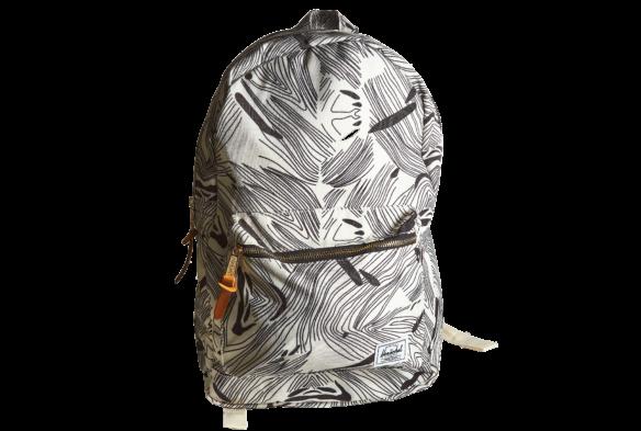 Рюкзак Herschel черно-белый