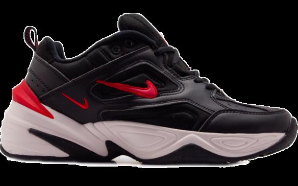 Nike M2K Tekno Black Red