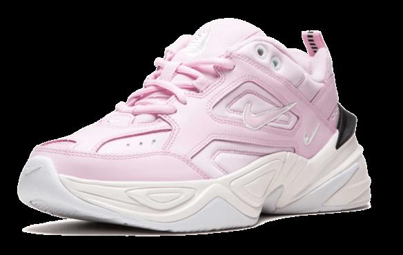 Nike M2K Tekno розовые с белым