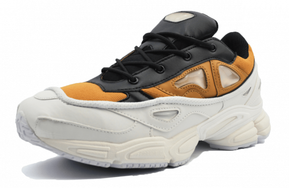 Adidas Raf Simons черно-белые