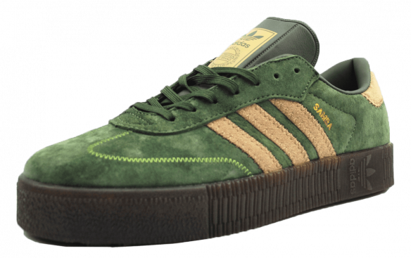 Adidas Samba Зеленые