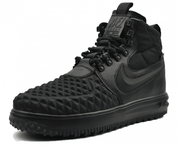 Nike Air Duckboot черные Осень-Зима