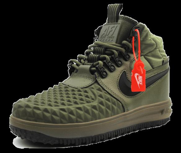 Nike Air Duckboot зеленые