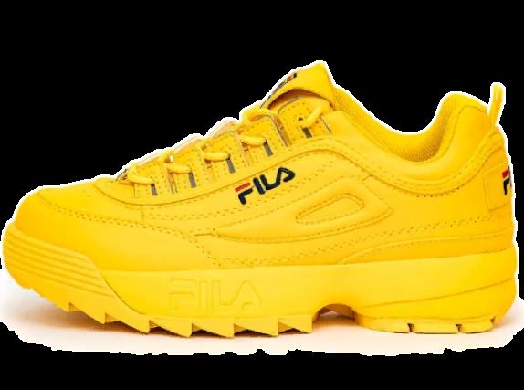 Fila Disruptor 2 желтые
