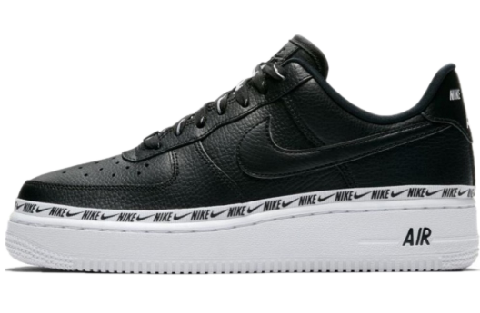 Nike Air Force 1 '07 SE Premium (Black-White)