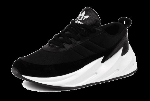Adidas Sharks черно-белые