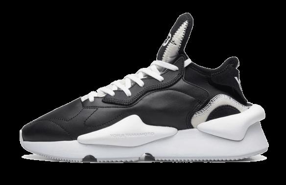 Adidas Y-3 Kaiwa черно-белые