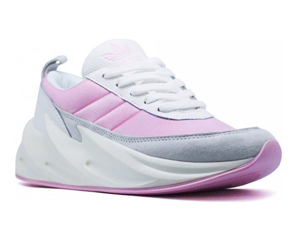 Adidas Sharks (бело-розовые)
