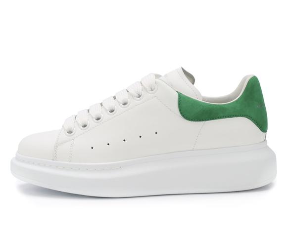 Alexander Mcqueen бело-зеленые
