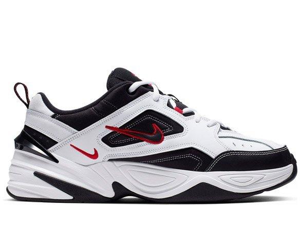 Nike M2K Tekno бело-черные