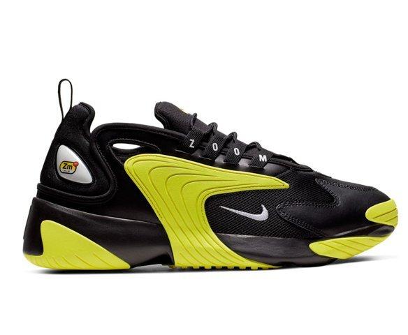 Nike Zoom 2K желто-черные