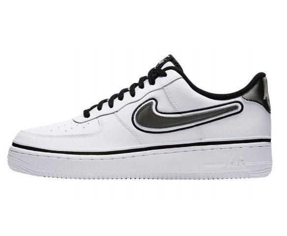 Nike air force 1 07 lv8 sport белые