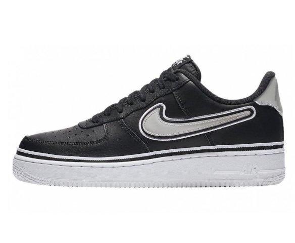 Nike air force 1 07 lv8 sport черные