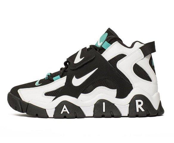 Nike Air Barrage Mid Black White