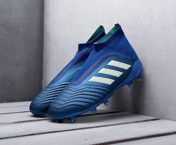 Adidas Predator 18+ FG синие