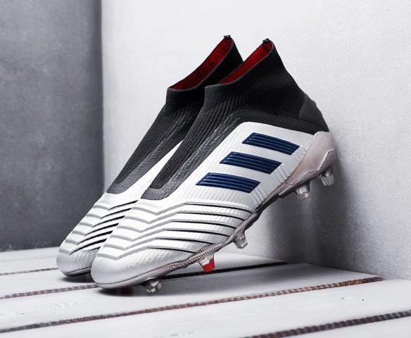 Adidas Predator 19+ FG silver