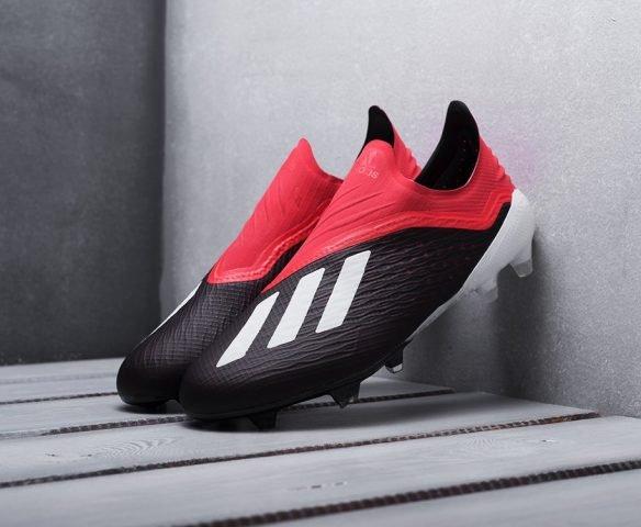 Adidas X Tango 18+ FG black-red