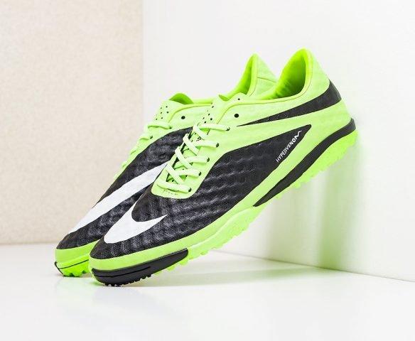 Nike HypervenomX Phelon III TF черно-зеленые