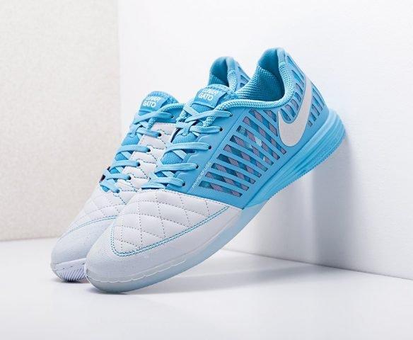 Nike LunarGato II IС бело-синие