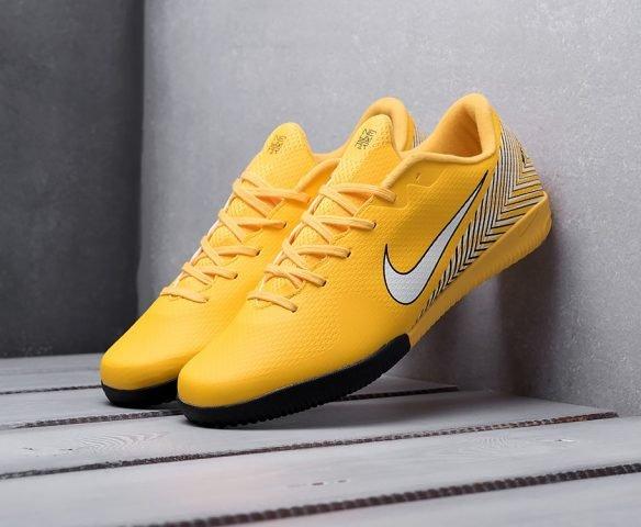 Nike Mercurial Vapor XII IC желтые